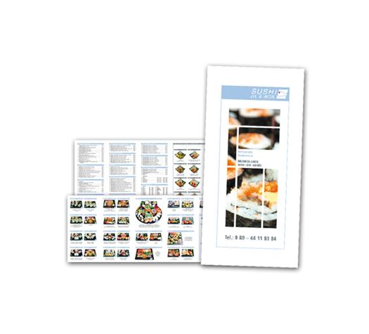 Sushi Jil & Wok / Speisekarten