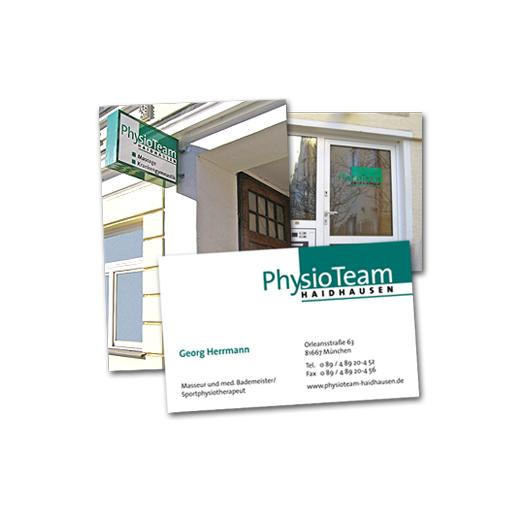 PhysioTeam Haidhausen / Außenauftritt