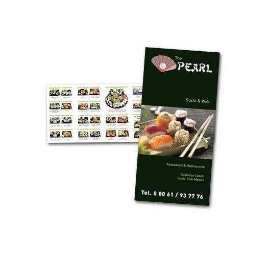 Sushi Pearl / Speisekarten