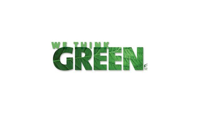 We Think Green / Logodesign
