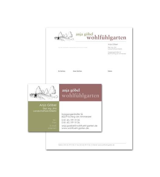 Wohlfühlgarten / Geschäftsausstattung