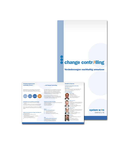 Change Controlling / Flyer