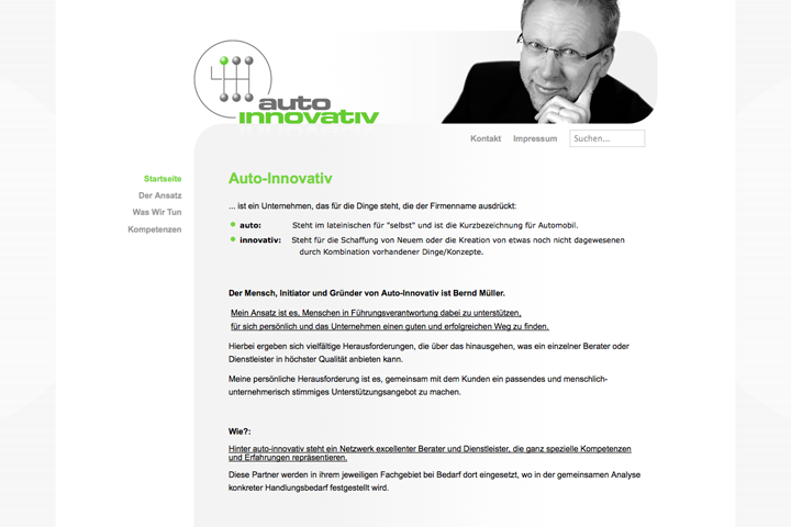 auto innovativ / Webdesign