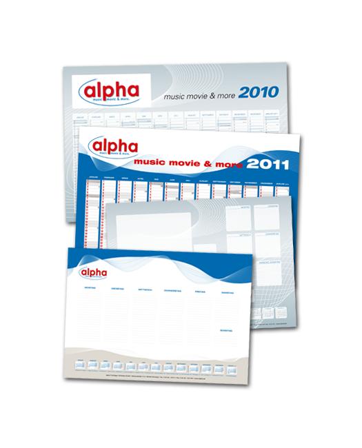 alpha Tonträger / Kalender