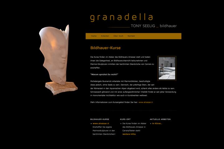 Toni Seelig / Webdesign