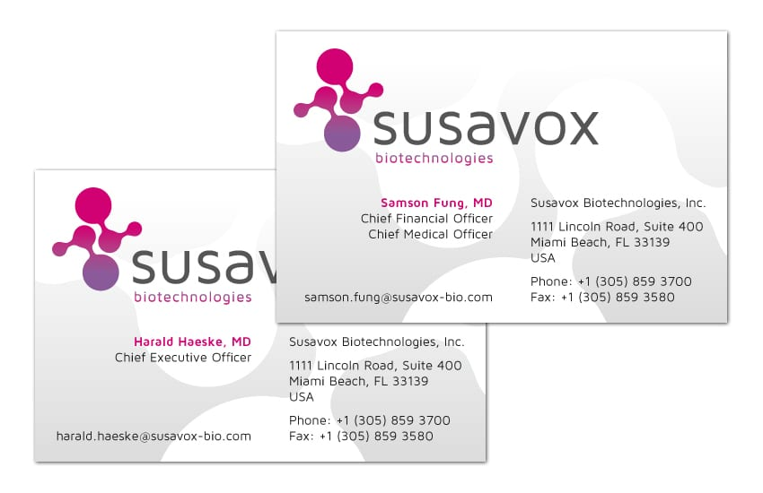 Susavox / Visitenkarten