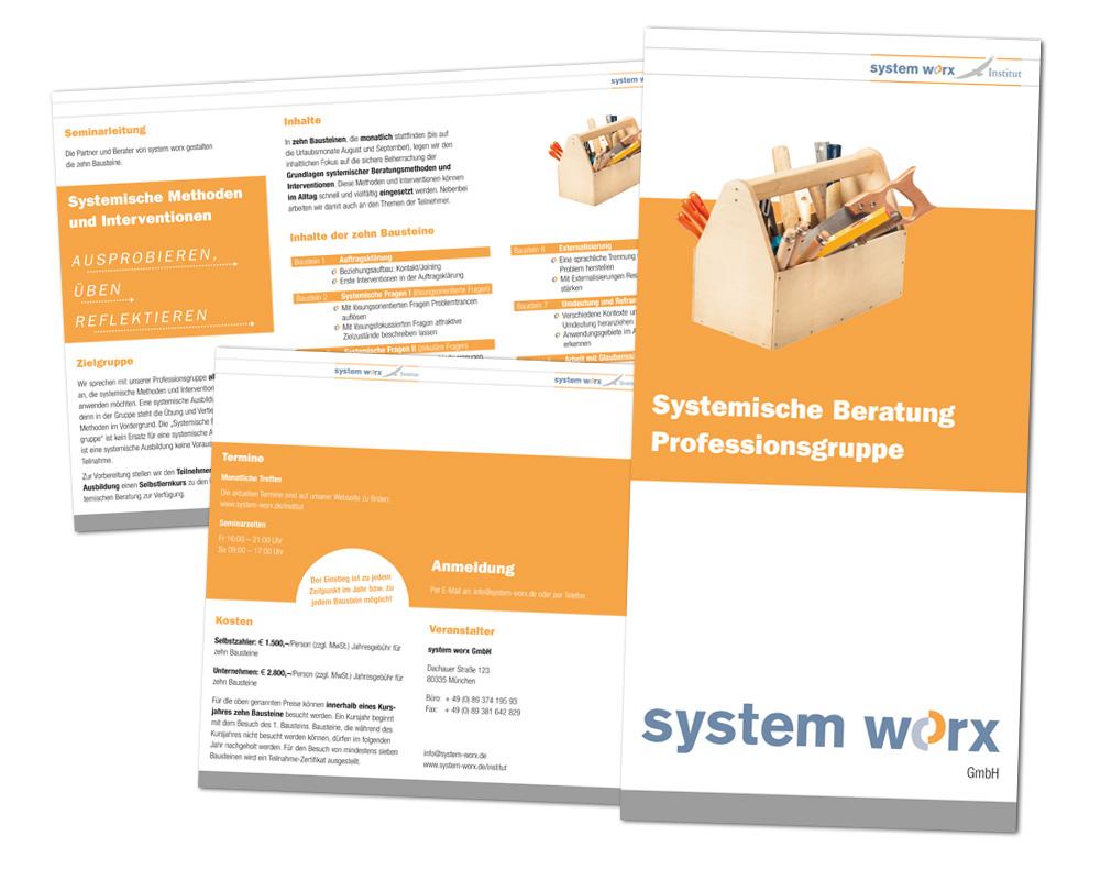 system worx / Flyer