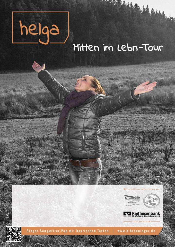 Helga Brenninger / Plakat