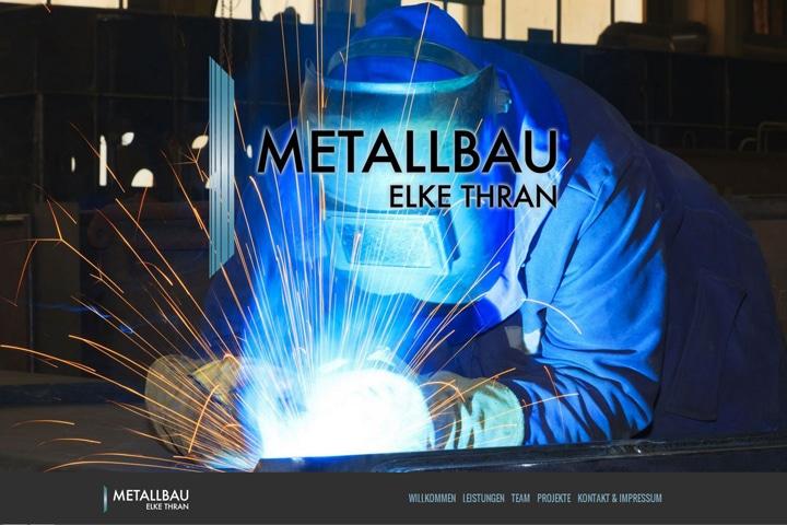 Metallbau Elke Thran / Webdesign