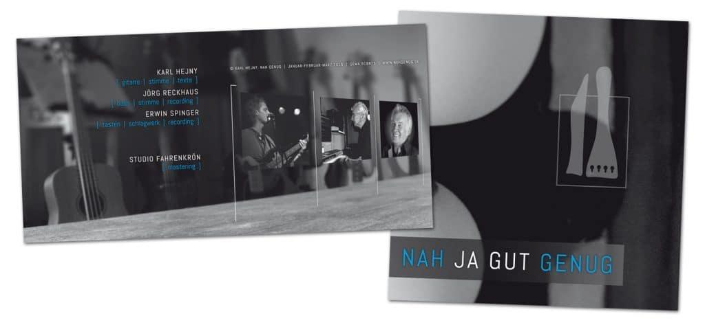 Nah Genug / CD