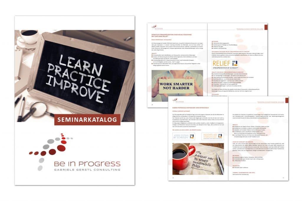 be in progress / Katalog