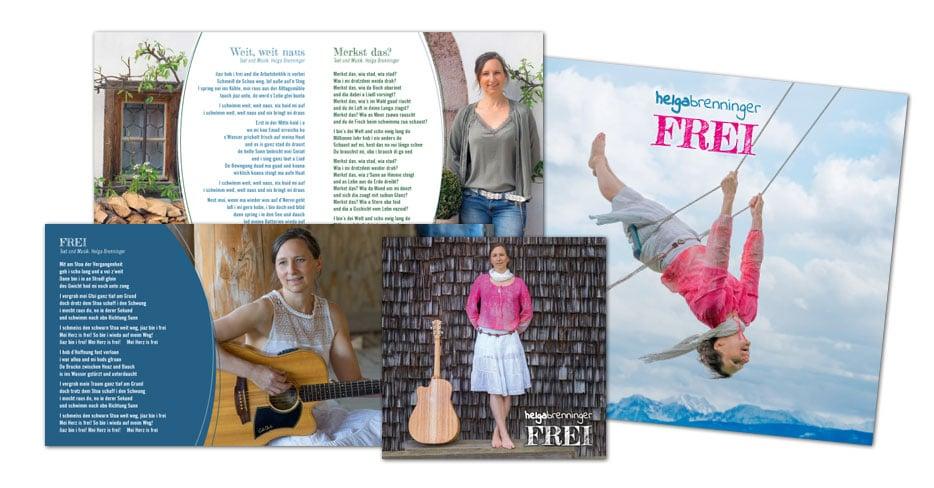 """Helga Brenninger / CD """"Frei"""""""