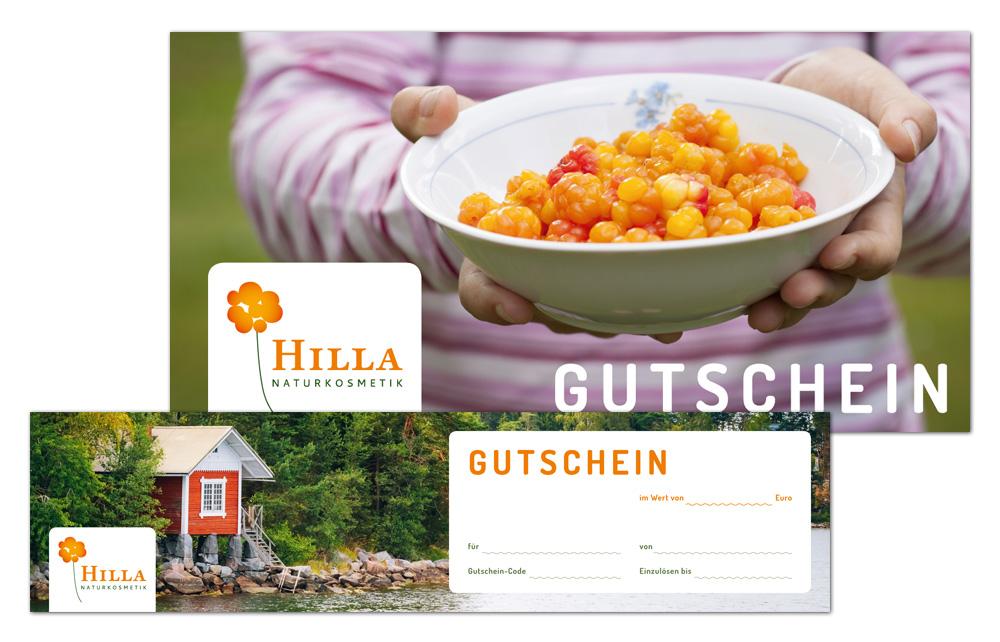 Hilla Naturkosmetik / Geschenkgutschein
