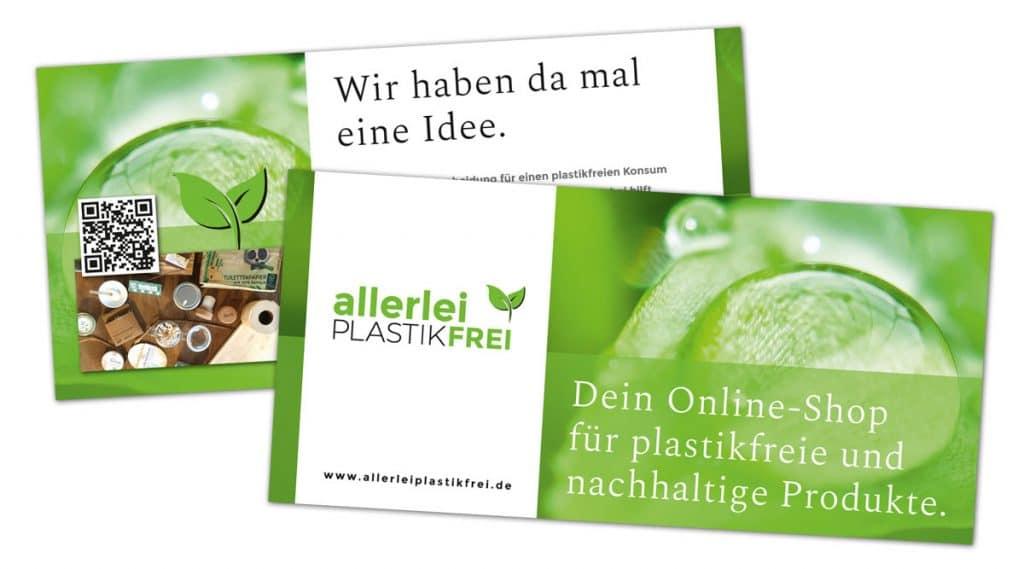 allerlei PLASTIKFREI / Flyer