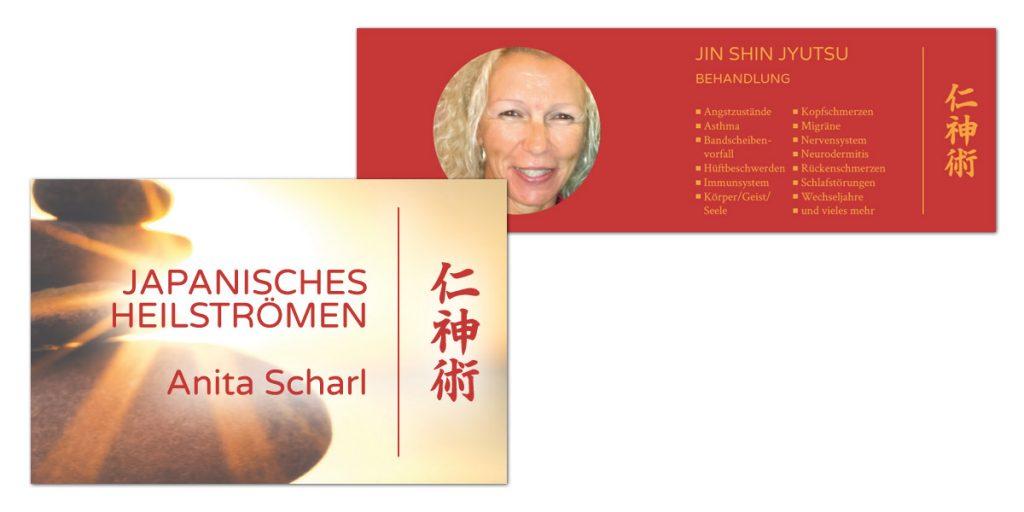 Anita Scharl / Visitenkarten