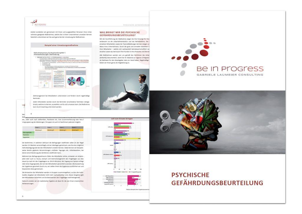 be in progress / Broschüre