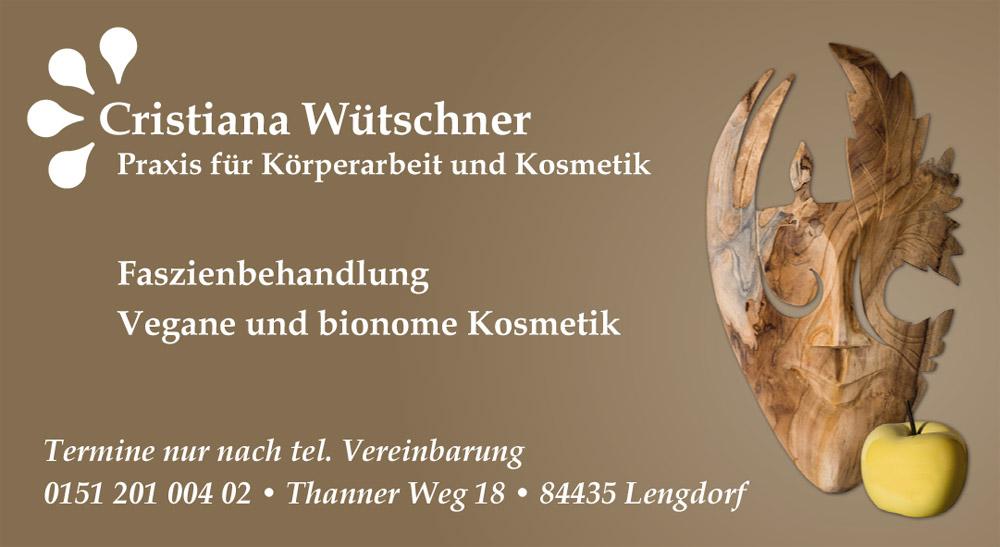 Cristiana Wütschner / Anzeige