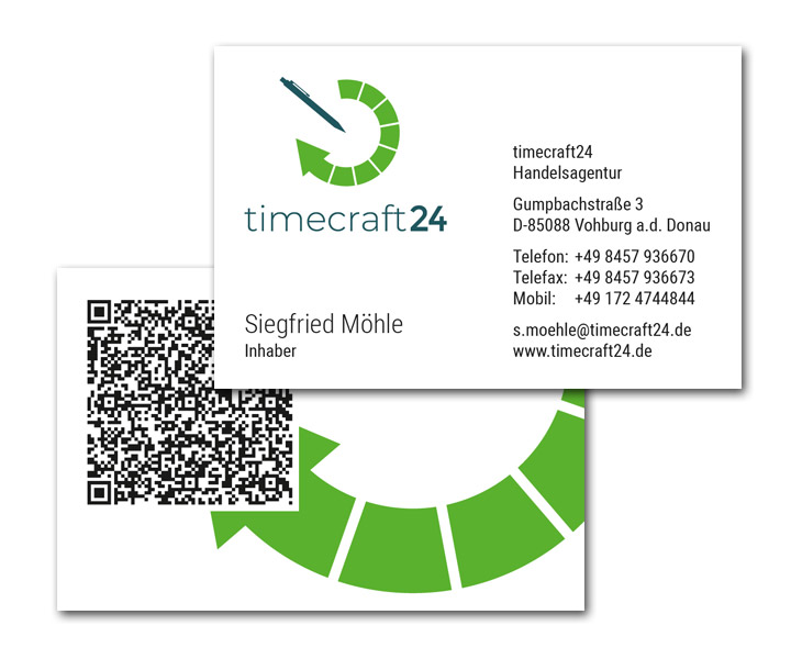 timecraft24 / Visitenkarten