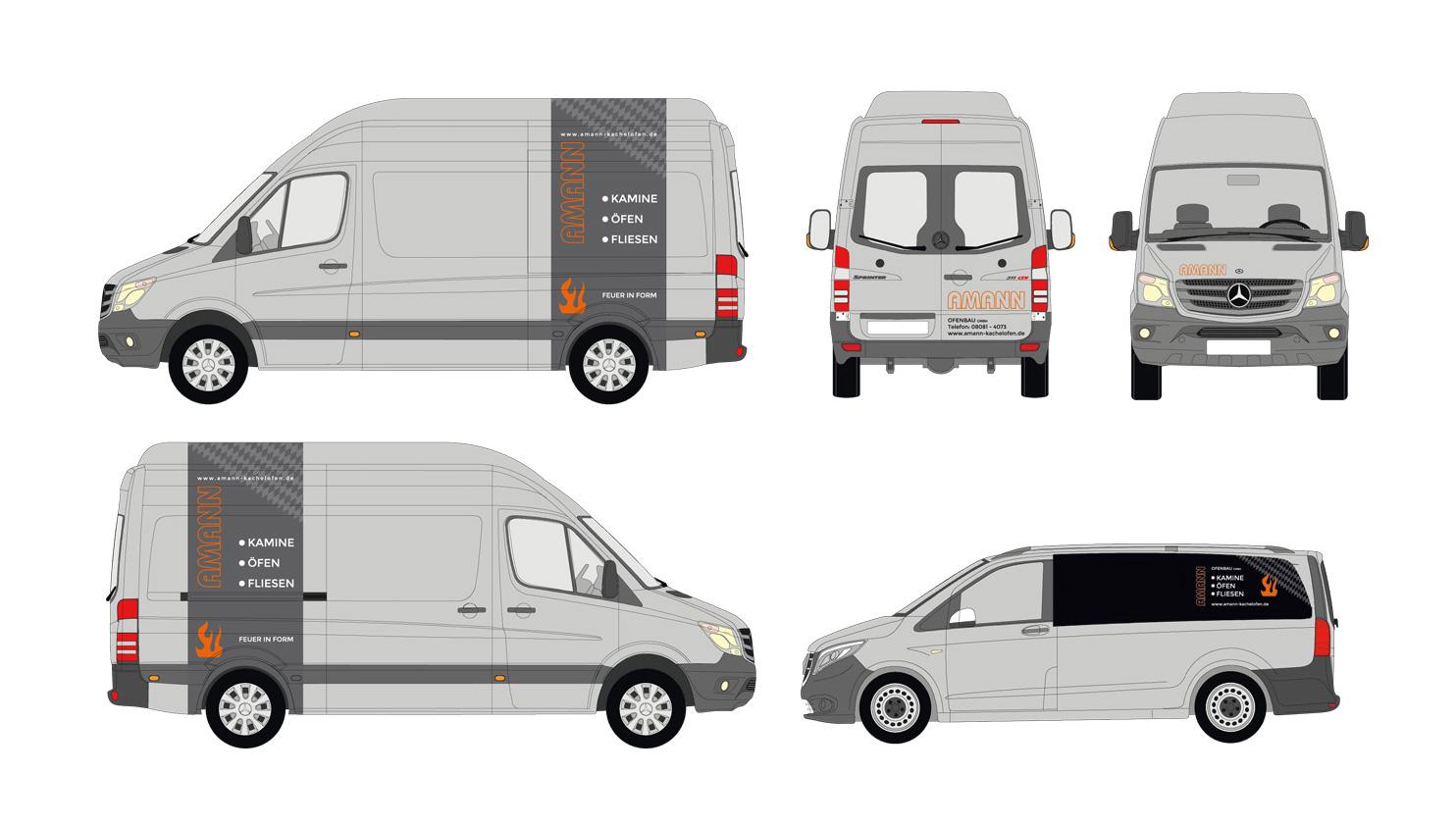 Amann Ofenbau GmbH / Fahrzeuge