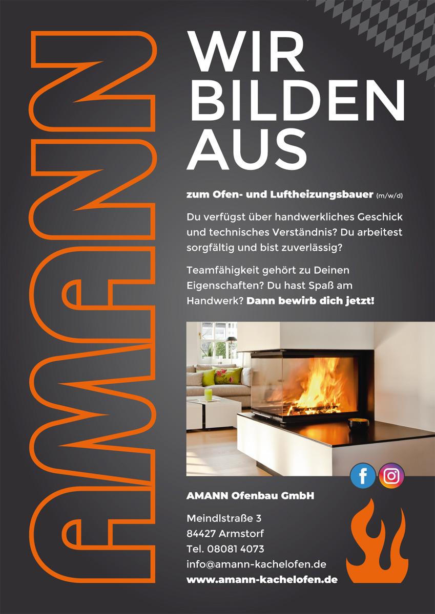 Amann Ofenbau GmbH / Plakat