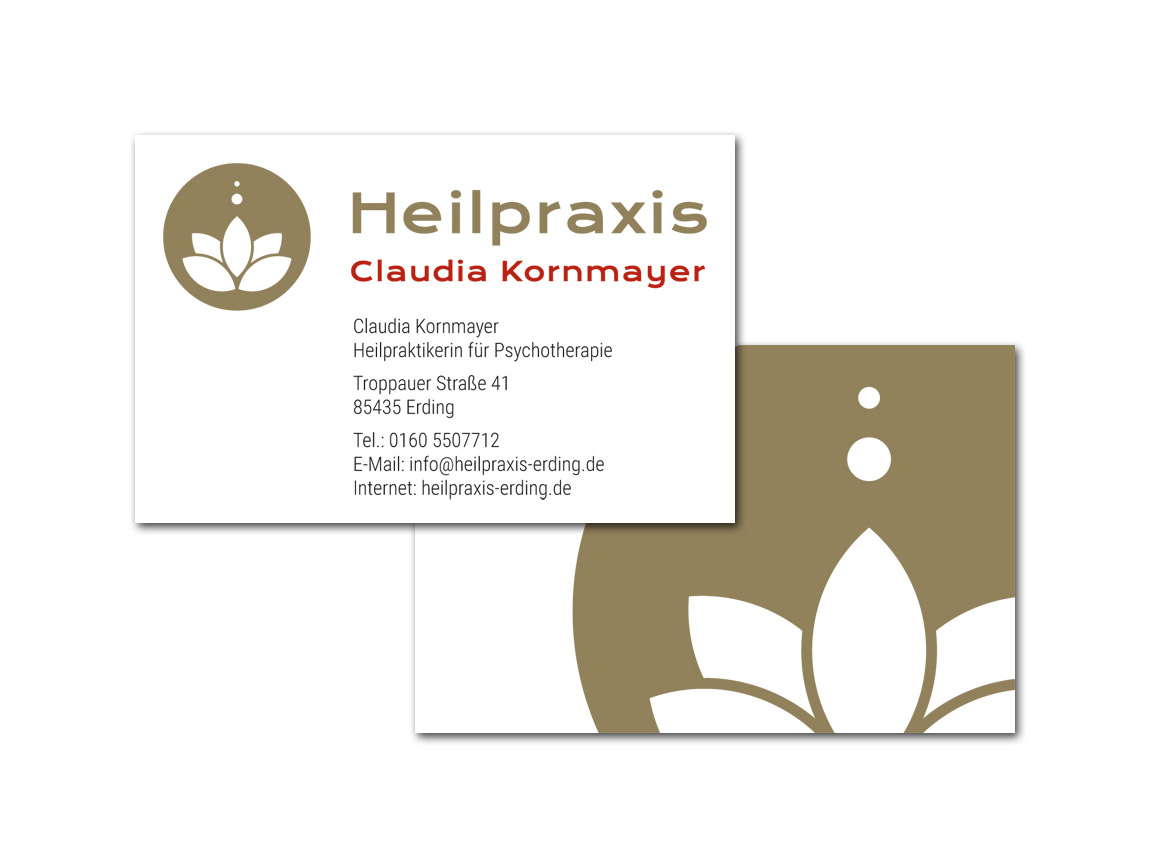 Claudia Kornmayer / Visitenkarten