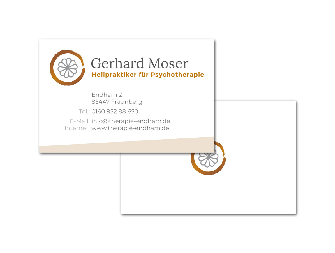 Gerhard Moser / Visitenkarten