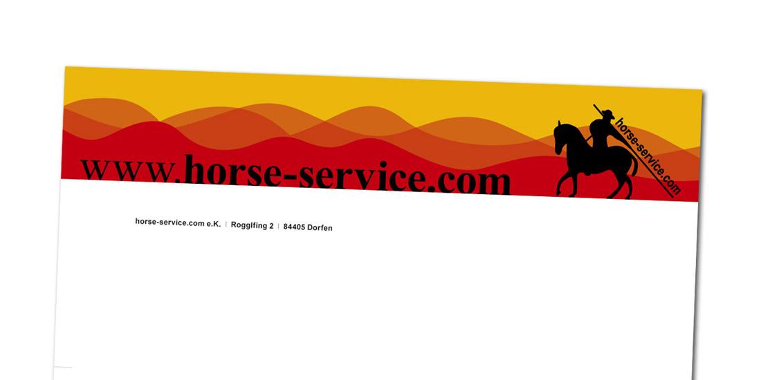 Horse-Service.com / Druckvorlagenerstellung