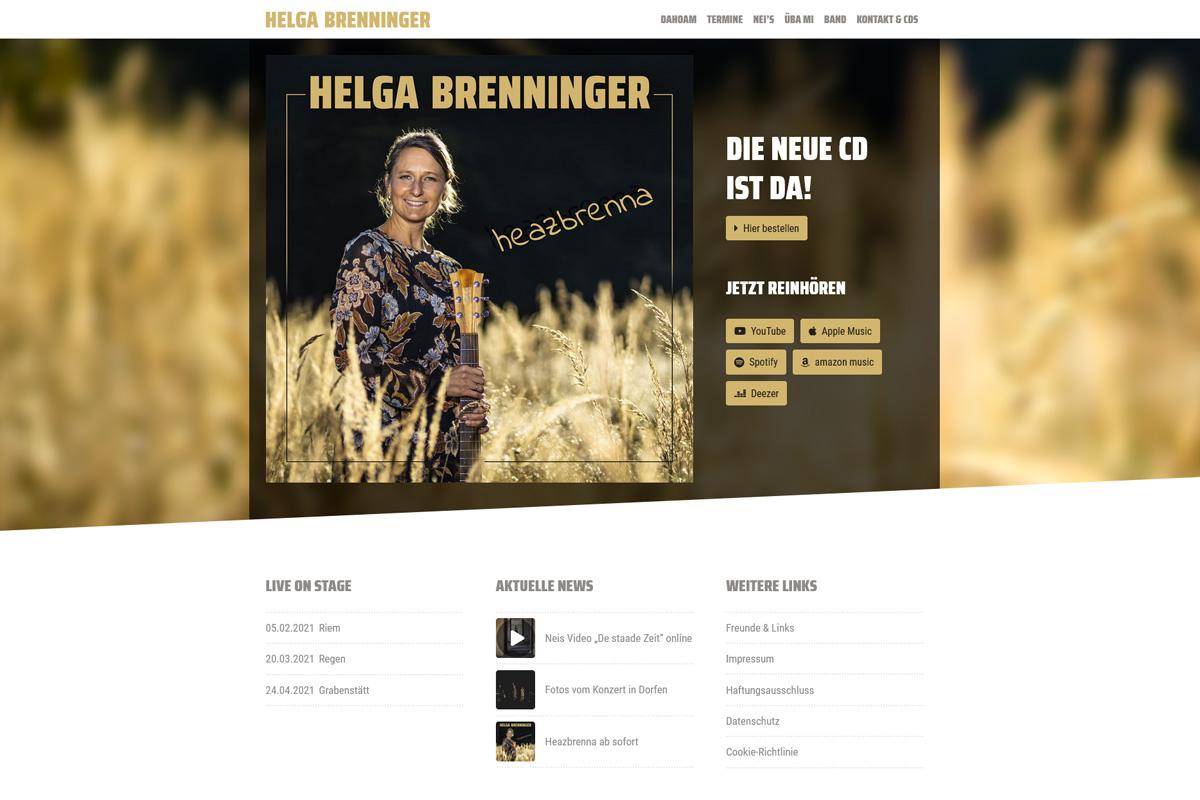 Helga Brenninger / Webdesign www.helga-brenninger.de